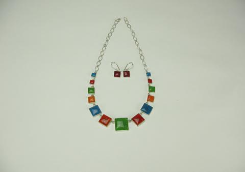 De Hoge Veluwe - sieraden met graniver glas